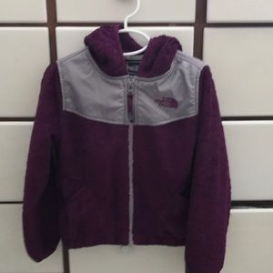 Girls The North Face fleece jacket